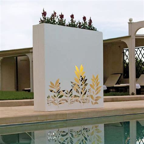 flower design on wall flower pot design ideas home designs project