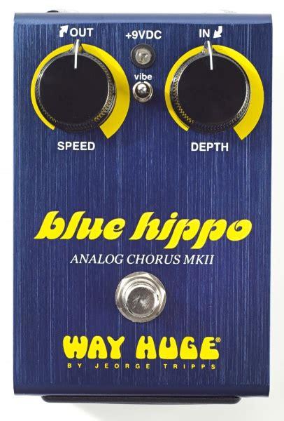 Kaos Dunlop Fa dunlop way whe601 blue hippo analog chorus voss musikk