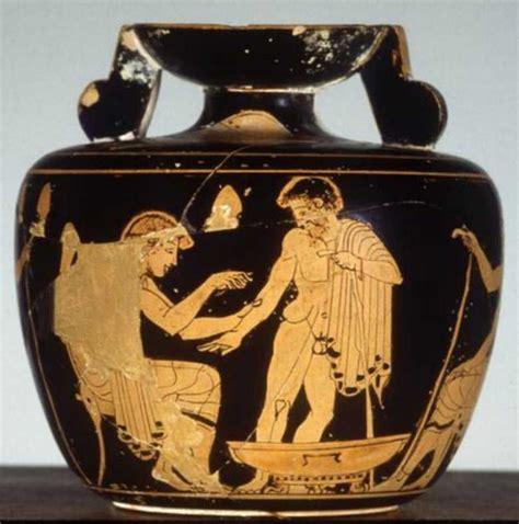 vaso attico bramarte viaggio nella storia dell arte greci pittura