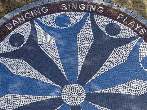 St Grey Design st church mosaic fiona gray designs