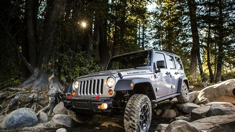 jeep wrangler rubicon offroad full hd wallpaper wrangler rubicon jeep off road forest