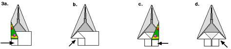 Origami Tree Trunk - tree origami