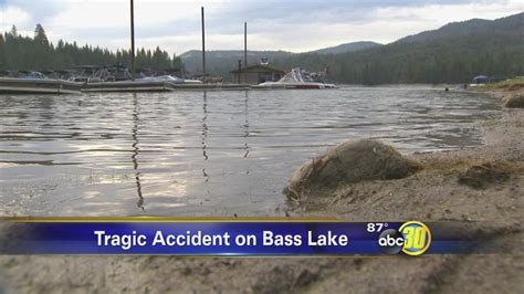 boat crash bass lake boat accident abc30