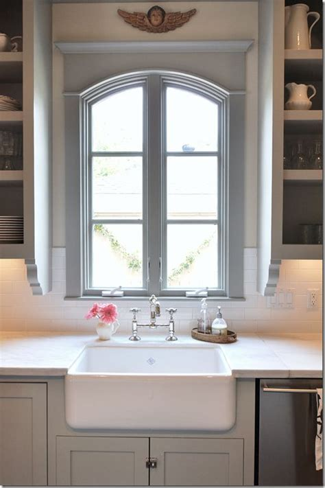 windows kitchen sink bridge faucet this is my kitchen layout sink window i want shelves on each side but i