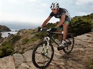 Mountain biking xc or cross country btwin