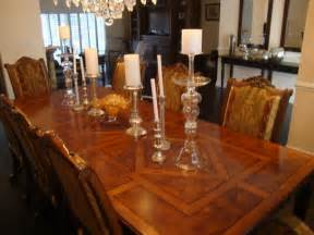 henredon walnut 13 dining room set 10 chairs 2 arm