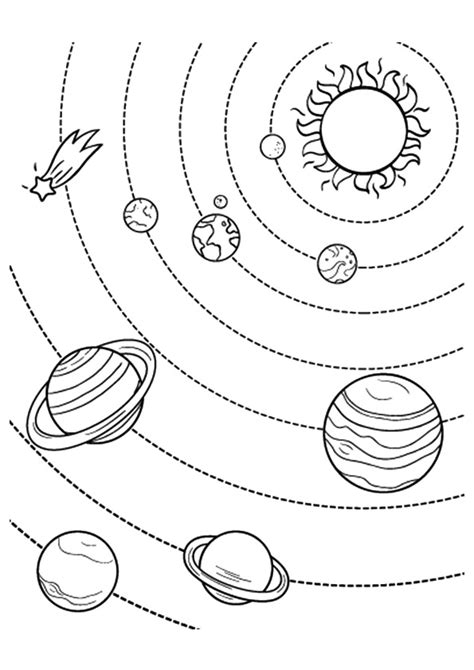 solar system coloring page free printable solar system coloring pages for