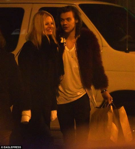 harry styles tattoo for nadine harry styles fuels rumours he s dating nadine leopald