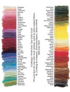color dye 6 cushing perfection acid dyes choose your favorite 6 dye