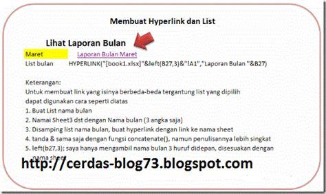 membuat link tanpa underline di html cara membuat hyperlink di microsoft excel blog cerdas