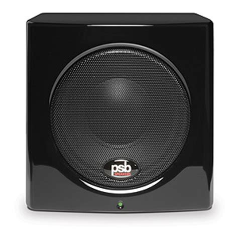 Substage100 Subwoofer From Soundmatters by Psb Sub Series 100 5 1 4 Inch Compact Powered Subwoofer
