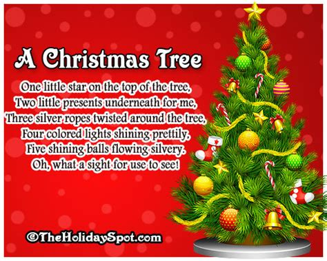 what is the significance of the christmas tree to christians poems 3