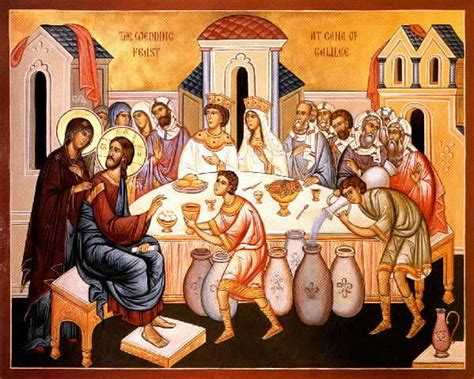 Wedding Feast At Cana Epiphany by The Wedding At Cana