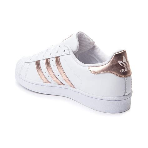Original Made In Indonesia Adidas Superstar Rosegold womens adidas superstar athletic shoe adidas superstar athletic shoes and athletic
