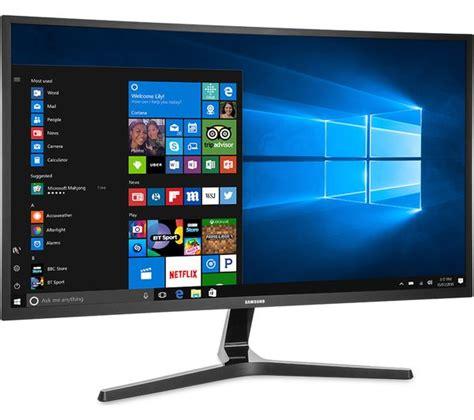 samsung 4k monitor samsung u32j590 4k ultra hd 32 quot led monitor black deals pc world
