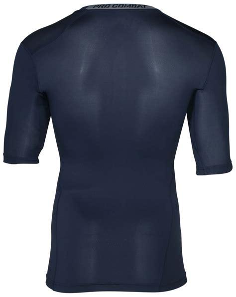 Baselayer Npc Nike Pro Combat Shortsleeve Compression Black Grey nike s dri fit compression half sleeve shirt ebay