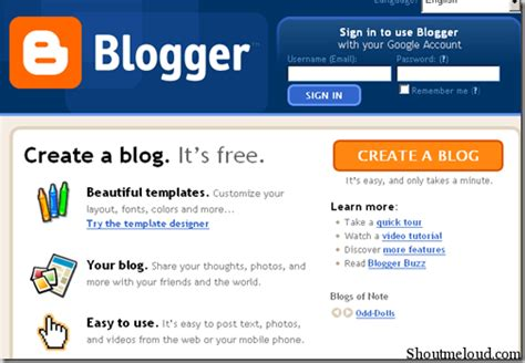 build blog how to create a free blog on blogspot