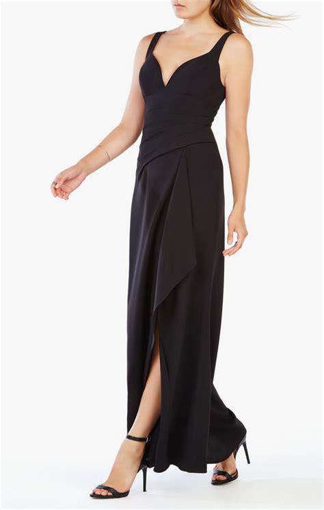 Maxi Casandra Cape bcbg factory dresses bcbg