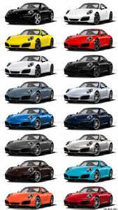 Porsche 911 Colors By Year 2017 Porsche 911 C2s Race Yellow And Guards
