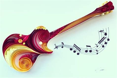 quilling guitar tutorial paper quilling workshop for kids 5yrs and above craft