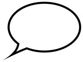 speech balloon template speech template cliparts co