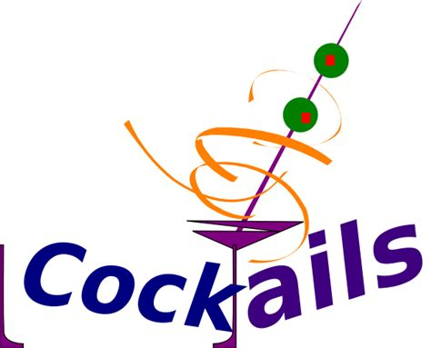 cocktails clipart simple cocktails clip at clker com vector clip