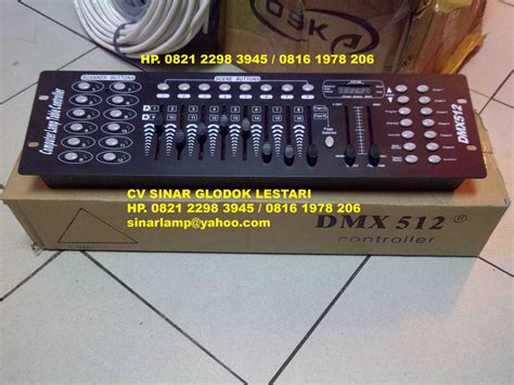 Mixer Lu Panggung Dmx 512 controller lighting mixer dmx 512