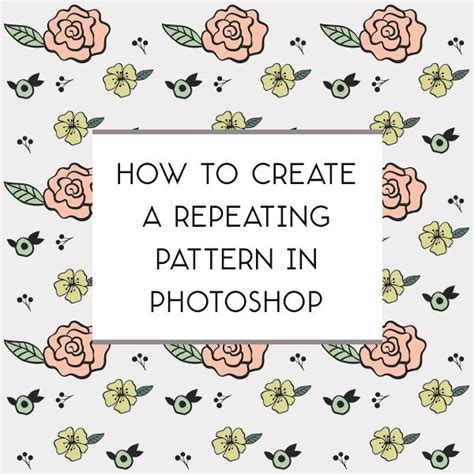 how to create a doodle in photoshop 17 best ideas about repeating patterns on