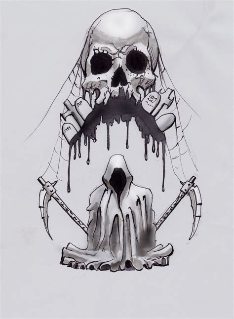 death tattoos and designs page 7
