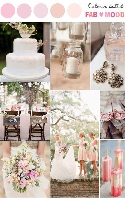 pastel rustic wedding pastel wedding color palette