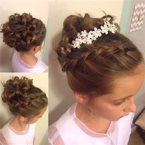graduation hairstyles for toddlers little girl updo wedding hairstyle instagram