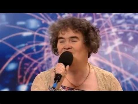 susan boyles first audition i dreamed a dream britain susan boyle 1st hd youtube a whole life of loving
