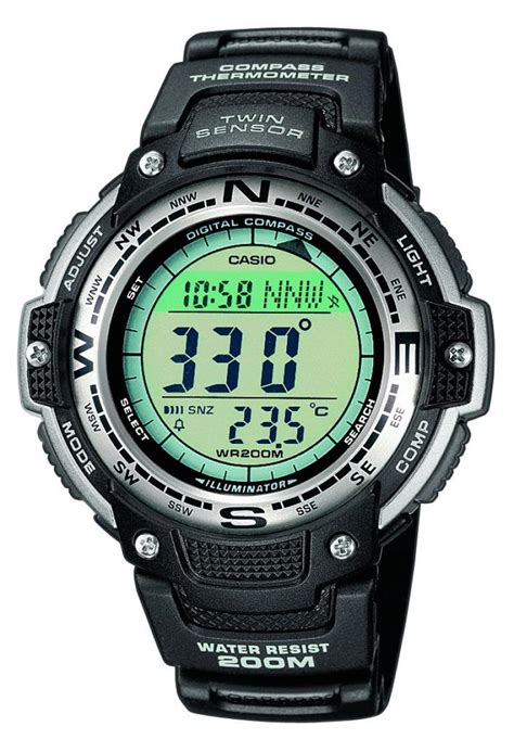 casio sea pathfinder casio sea pathfinder sgw 100 1vef 163 55 00 from