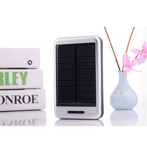 Power Bank Solar Cell Samsung 10000mah solar panel charger power bank portable external battery charger for iphone samsung