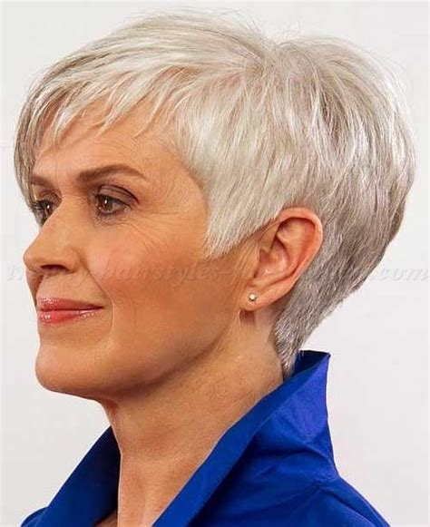 haircuts for thin gray hair over 50 14 short hairstyles for gray hair short hairstyles 2016