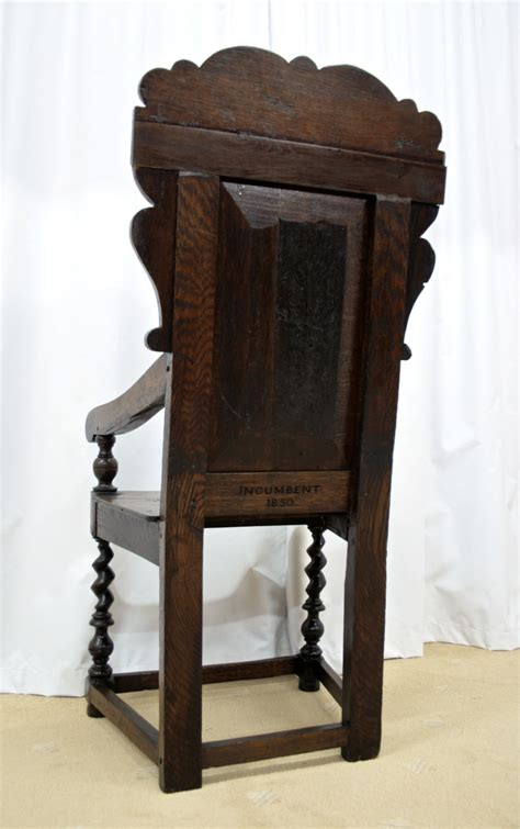 Wainscot Chairs For Sale by 19th Century Oak Wainscot Style Chairs For Sale Antiques