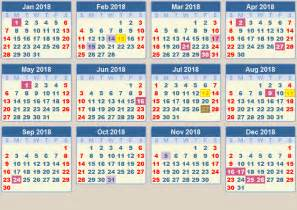 Calendar 2018 South Africa With Holidays Calendar 2018 School Terms And Holidays South Africa