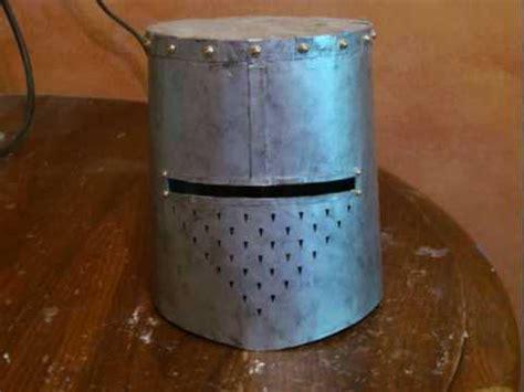 How To Make A Paper Helmet - templar paper helmet