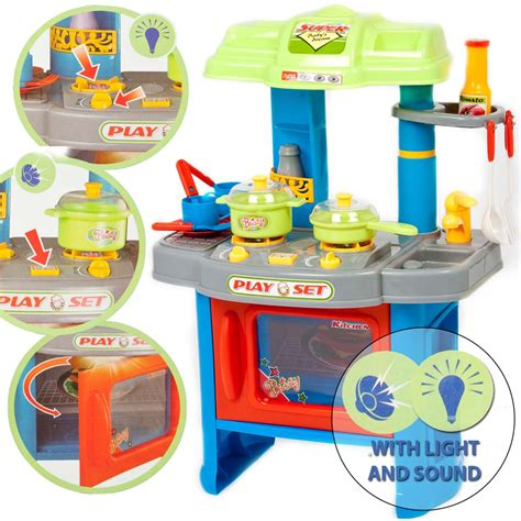 Electronic Kitchen Play Set 29 electronic kitchen cooking children s play set
