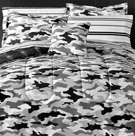 black and white camo bedding camouflage black gray boys teen queen camo comforter