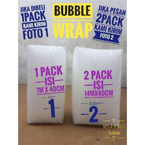 Plastik Buble Wrap new 7m x 40cm wrap plastik gelembung buble wrap