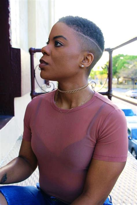 big chop natural hair fade twa design short curly shaved colored hairstyles fade haircut