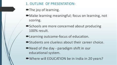Career Day Presentation Outline by Educarnival 2016 At Iit Delhi Presentation By Rama J Sudev