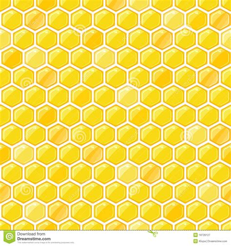 cute honeycomb pattern honeycomb seamless pattern stock vector image of cute