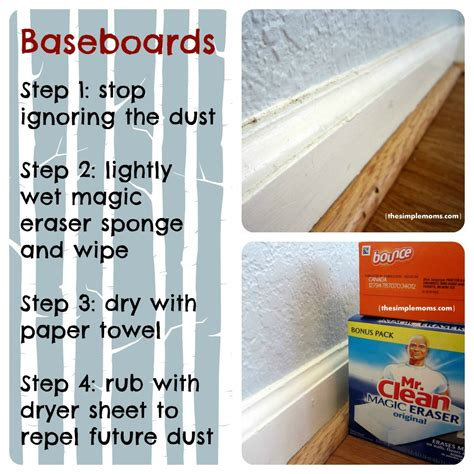 Cleaning Inspiration | time to clean up your baseboards saturday cleaning