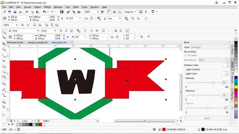 tutorial visual basic 6 0 bahasa indonesia tutorial cara membuat desain logo di coreldraw x7