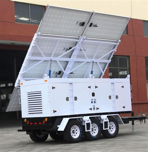 Solar L Post For Rv by Iqmilitary Solar Trailer For War Zone