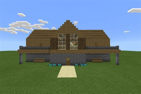 building a mansion easy mcpe mansion 5
