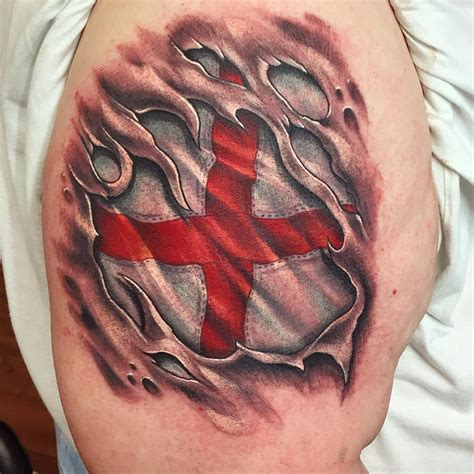 st george tattoos for men st george flag 3d st george
