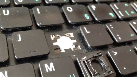 my keyboard layout won t work how to remove and replace a key on acer aspire laptop